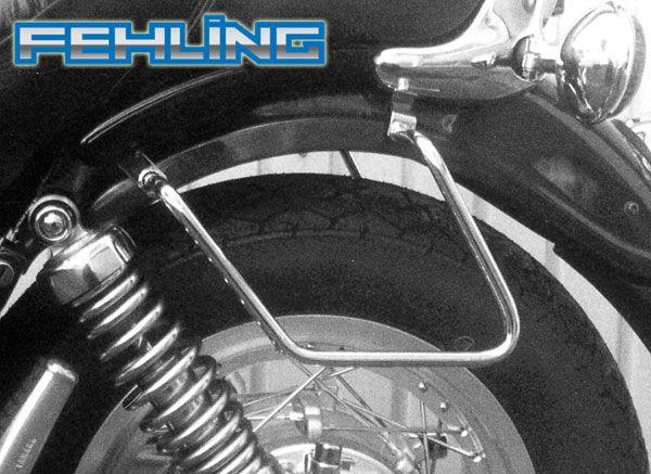 Yamaha Xv750 And Xv1100 Virago Fehling Saddlebag Pannier Support Bars Saddlebag Support Rails Pannier Yamaha Saddle Bags