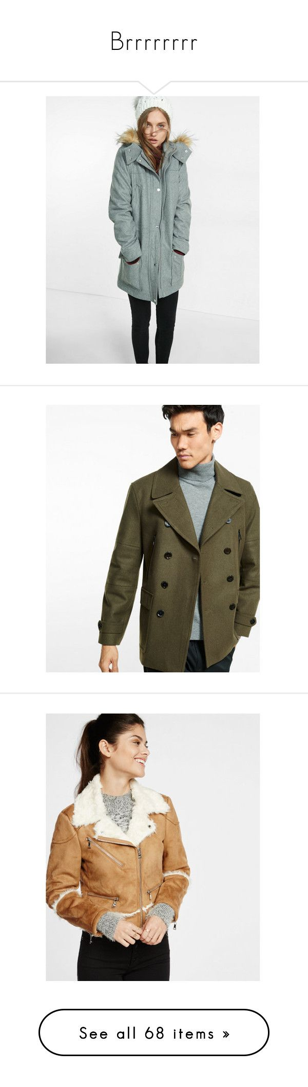 """""""Brrrrrrrr"""" by expressinc ❤ liked on Polyvore featuring outerwear, coats, grey, sports coat, gray sport coat, parka coats, grey sport coat, vintage sport coat, men's fashion and men's clothing"""