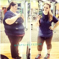 285-Pound Weight-Loss Transformation Photo | POPSUGAR Fitness