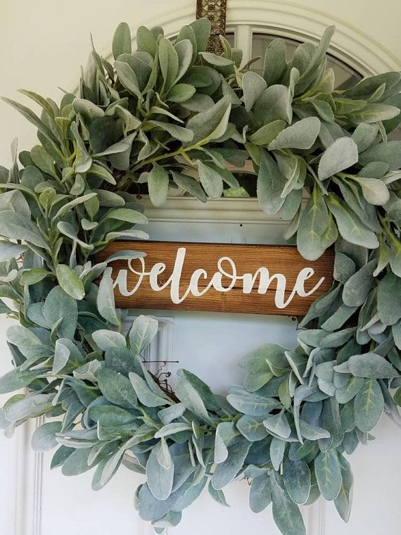 MINI Window Wreath-NEW 2018-Greenery Wreath-Farmhouse Wreath-Small Wreath-Bog Pimpernel-Farmhouse Decor-Wall Decor-Wreaths-Home Decor-Gift