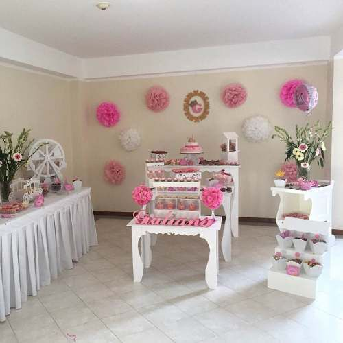 Muebles originales para el candy bar party muebles - Alquiler decoracion ...