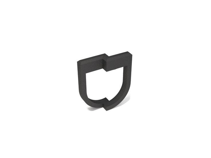 Anel fosco, em impressão de nylon na cor preta, produzido em material maleável e resistente nos tamanhos P | M | G | GG. #FujaDoTédio #UseNoiga #MadeInBrasil #3DPrint #Noigando