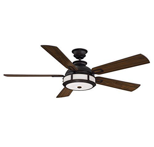 Kichler Lighting 337008BAB Ceiling Fan Flush Mount Kit Burnished Antique Brass Finish Visit