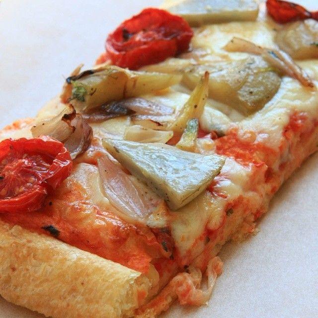 pacco pizzanın enginarlı kurutulmuş domatesli  pizzası