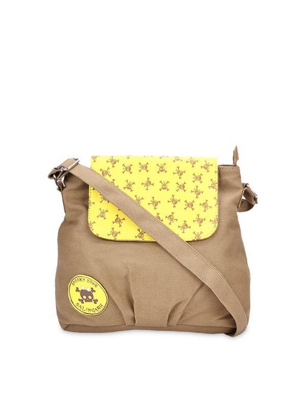 Khaki Sling Bag Image