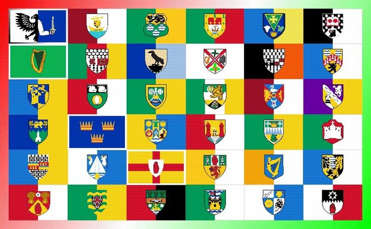 IRISH COUNTY FLAGS