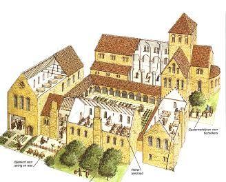 Klooster was het kennis en cultuurcentrum in de maatschappij. Waren zelfvoorzienend.