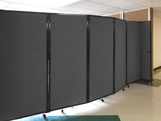 It S True We Build Rolling Portable Partitions Which Look Great