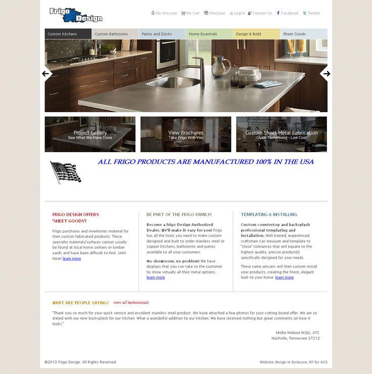 Home Improvement Website Design, November 2011. Designed By ACS Www.acs Web