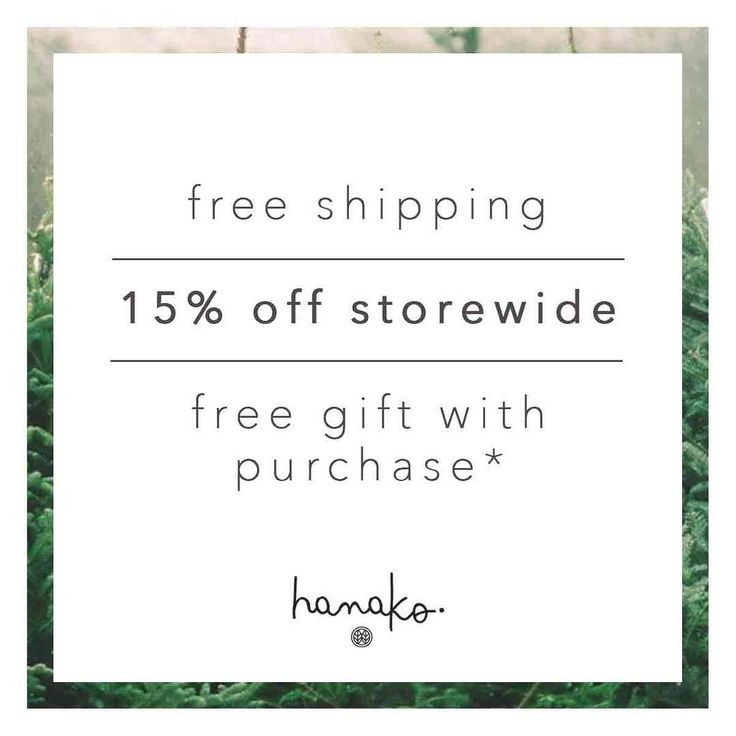 .  last chance to get a FREE happy tracks gift with purchase with each order and 15% off storewide. Use the code CYBERMONDAY at checkout. Don't forget we have free worldwide shipping over $40 + free gift boxing on every order! //www.hanakotherapies.com