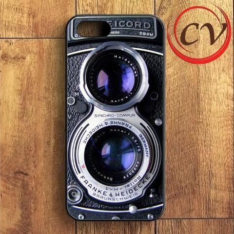 Classic Camera iPhone SE Case