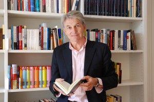 """Reinhard G. Wittmann, Leiter des Literaturhauses München: """"Literatur für alle Sinne"""" (Foto: Lissy Mitterwallner)"""