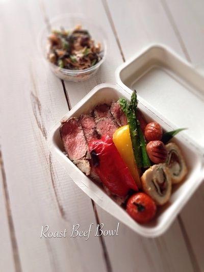 ローストビーフ丼。 by Cafe Irisさん | レシピブログ - 料理ブログの ...
