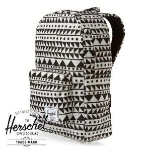 Herschel Classic Backpack Backpack - Chevron Black | Free Delivery