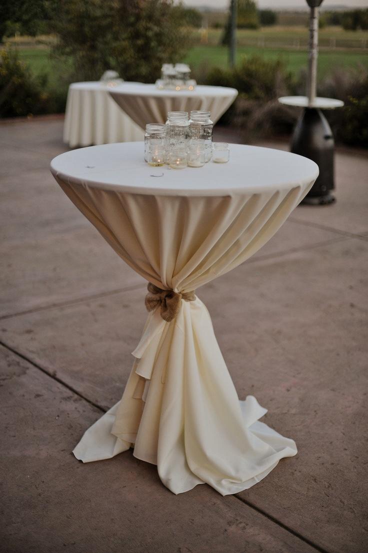 Littleton wedding from rising moon films manchik for Cocktail tables high