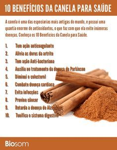 10 benefícios de canela para a saúde