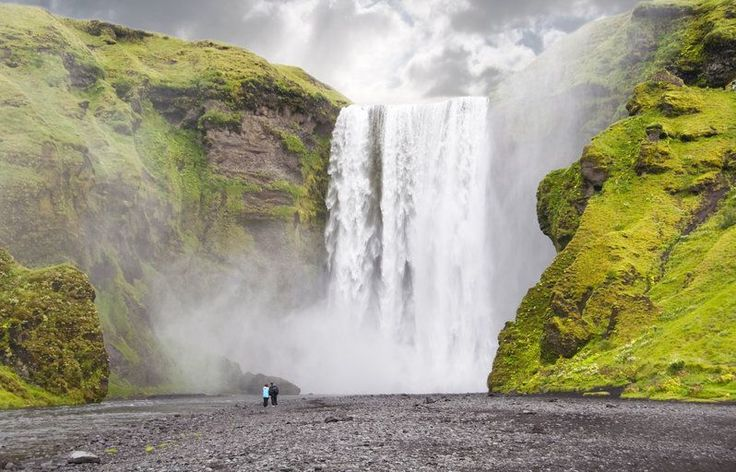 Skógafoss Waterfall (Skogar, South coast of Iceland) Facts