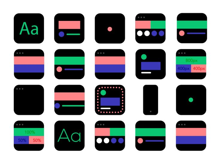 Made these animations for blog post about 9 basic principles of responsive web design.   Check the full post here:  http://blog.froont.com/9-basic-principles-of-responsive-web-design/  Illustration...