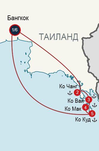 Маршрут для самостоятельных путешествий: Восточное побережье Таиланда (5 островов)