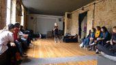 Workshop overtone singing by Sainkho Namtchylak / Poznan / 2nd October 2011