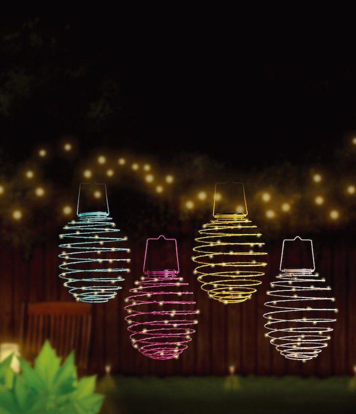 Led Solar Spiral 16cm Beleuchtung Garten Laterne Garten Gartenbeleuchtung