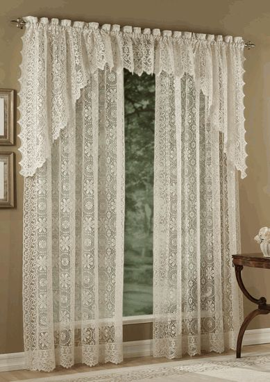 Hopewell is a heavyweight jacquard lace panel with scalloped bottom edge, that used lofted yarns to create the soft hand & look of old world lace, but…