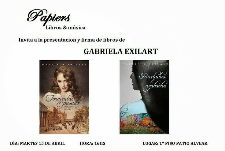 El Pantano de Fiona: Gabriela Exilart en San Juan...