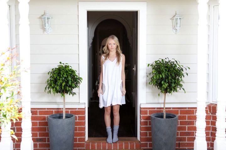 Scoop Pocket Nightie http://pelicansleepwear.com.au/products/scoop-pocket-nightie