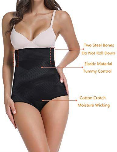 17e6197d081ba Joyshaper Shapewear for Women Tummy Control Panties Seamless High Waisted  Underwear Slimming Briefs