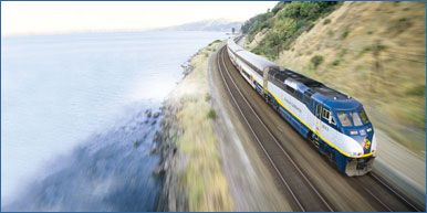 Train through the San Joaquin Valley from San Francisco to Yosemite | Amtrak