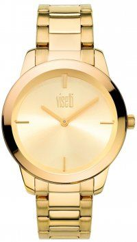 Visetti  Ρολόι Visetti Ophelia Series με χρυσό μπρασελέ PE-799GG