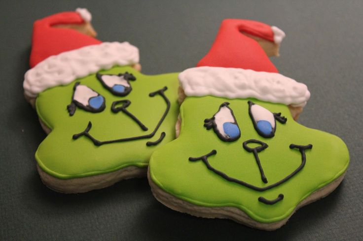grinch cookies | ... some Grinch cookies and happier yet with the awesome cookie cutter