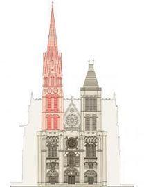 En visite à la cathédrale historique des rois de France ce samedi matin, François Hollande, a apportéson soutien au projet de reconstruction de la flèche de la basilique de Saint-Denis, décidé par la mairie communiste.