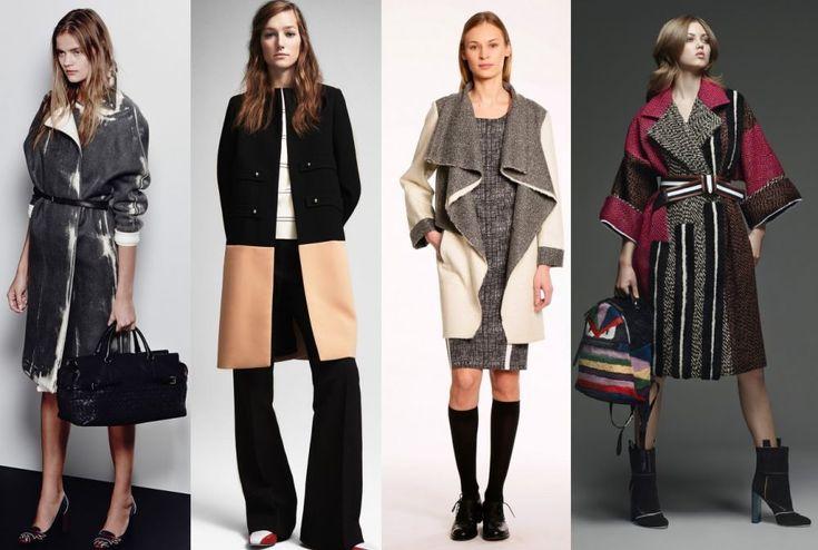 Модные пальто осень-зима 2015-2016. Модные новинки этого сезона