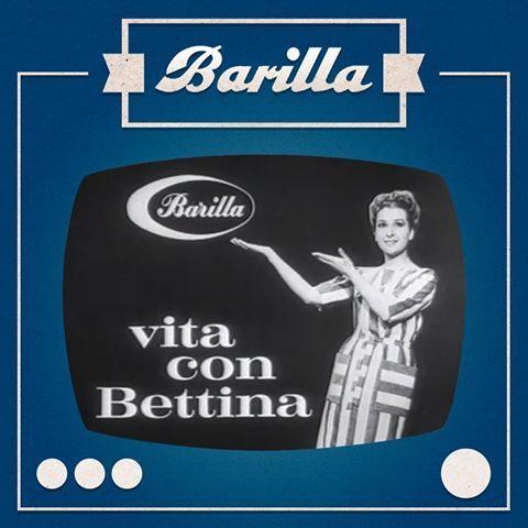 """Il primo serial pubblicitario firmato Barilla: è il 1965 e questa è """"Vita con Bettina""""."""