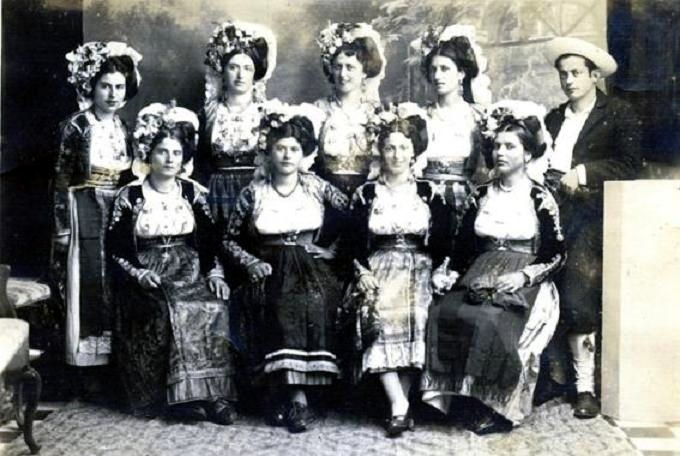 Traditional Dress of Corfu, Greece