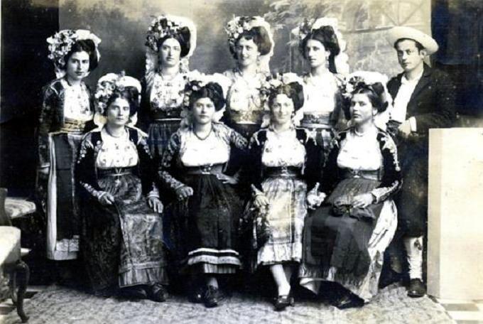 Traditional Dress of Corfu, Greece