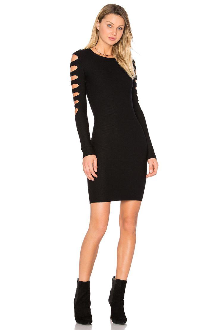 Bailey 44 Lauren Sweater Dress in Black