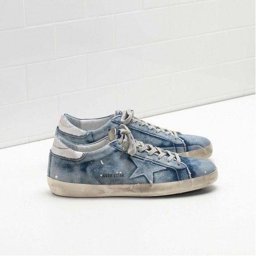 Chaussures De Sport Pour Les Hommes En Vente, Noir, Cuir, 2017, 39 Oie d'or