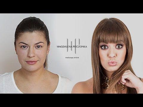 Makijaż dla opadającej powieki - YouTube
