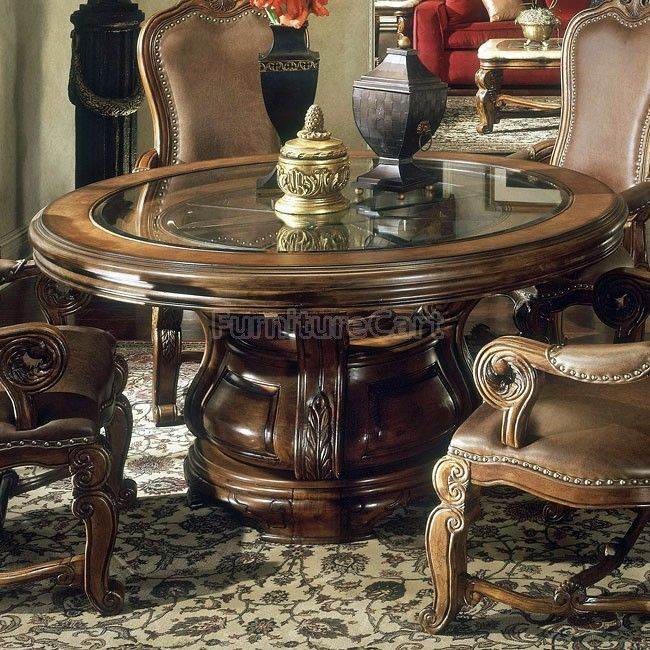Furniture Dining Room Table, Aico Tuscano Dining Room Setup