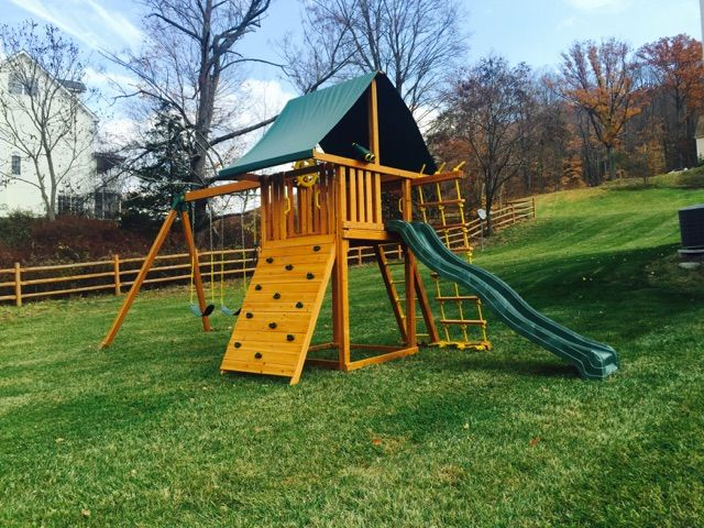 22 best Swing Set Installations images on Pinterest