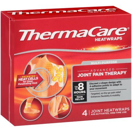 Thermacare Multi-Purpose Joint Pain Therapy Heatwraps 4 Ct