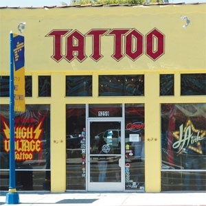 Get a tattoo from Kat Von D