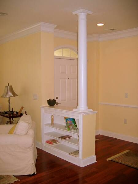 14 best entry way/pony wall ideas images on Pinterest ...