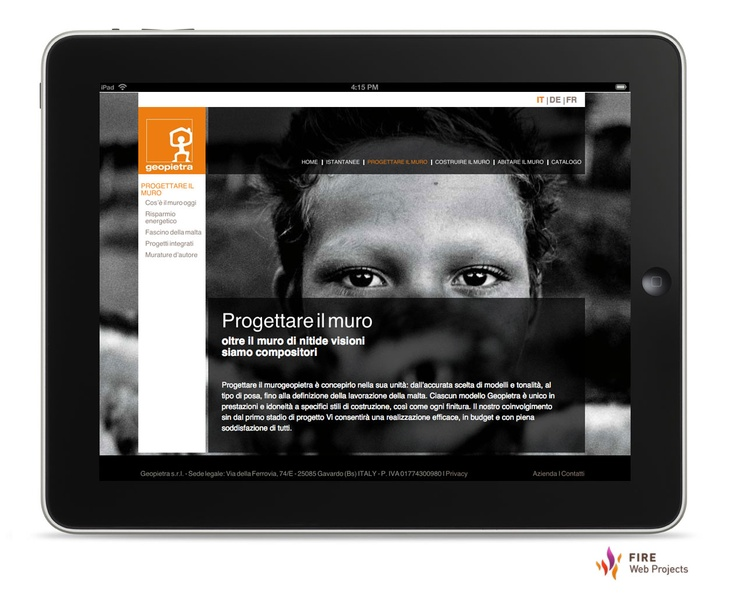 #Webdesign and development of Geopietra web site. Click here to read the case study. http://www.firewebprojects.com/case-studies/geopietra.aspx