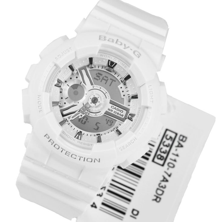 A-Watches.com - Casio Baby-G White Sports Ladies Watch BA-110-7A3, $88.00 (http://www.a-watches.com/casio-baby-g-ba-110-7a3/)