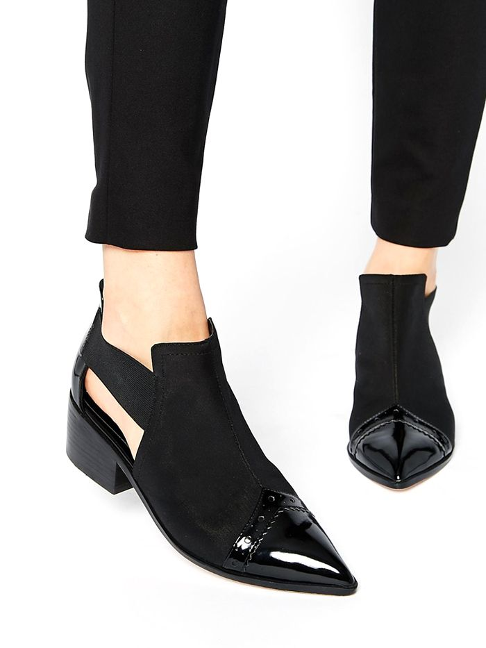Must-Have: Summer-Ready Boots via @WhoWhatWear ASOS Ramsford Neoprene Point Cut Out Western Boots ($81)                                                                                                                                                     Más