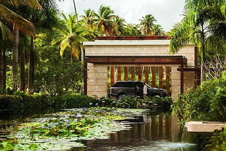 Upon arrival at Dorado Beach, a Ritz-Carlton Reserve, guests are instantly greeted by the lush elements of Puerto Rico-s natural surroundings.