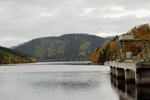 Wunderherrliche Natur trifft wunderbare Technik! Energie gewinnen, speichern und steuern - Viertgrößte Talsperre Deutschlands #hohenwarte #thüringen #vattenfall #natur #technik #energie